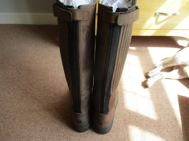 Image 2 of Mountain Horse Long Riding Boots Size 8