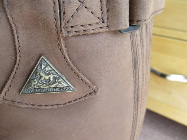 Image 3 of Mountain Horse Long Riding Boots Size 8