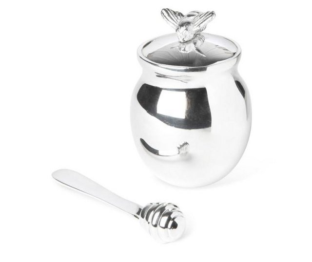 Image 2 of Culinary Concepts Honey Bee Pot with spreader