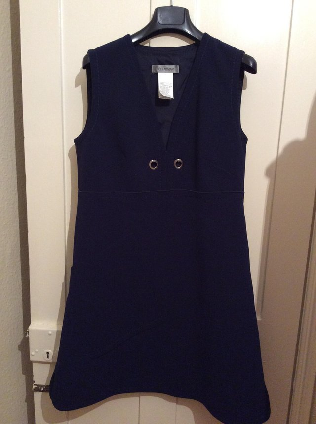 Preview of the first image of SportMax dress. Navy, size 16..