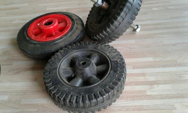 Image 2 of 3 MINIATURE WHEELS 6 INCHES ACROSS