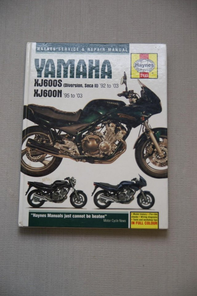 Preview of the first image of Haynes Manual - Yamaha XJ600N/XJ600s.