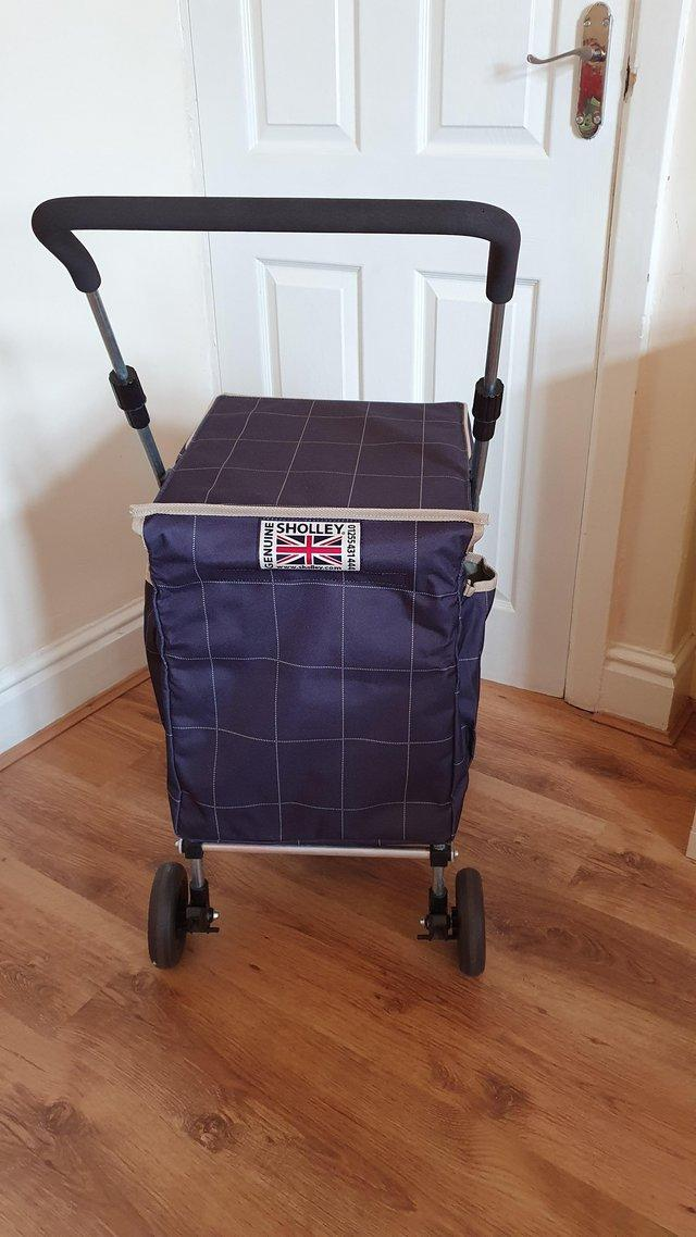 Image 3 of Sholley Trolley, shopping trolley and mobility aid
