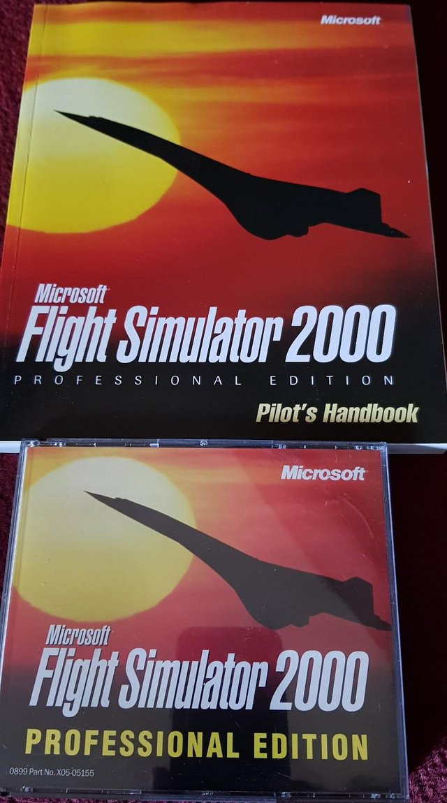 Preview of the first image of Microsoft Flight Simulator 2000 Professional Edition.