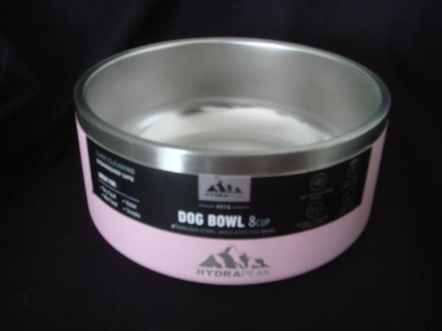 Preview of the first image of Hydrapeak Stainless Steel Insulated Dog Bowl Large Breed.