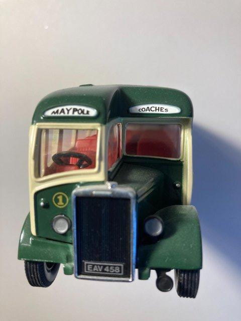 Image 2 of Very rare Collectors model of Maypole coach from Latham