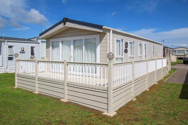 Preview of the first image of Delta Cambridge static caravan at New Beach, Dymchurch, Kent.