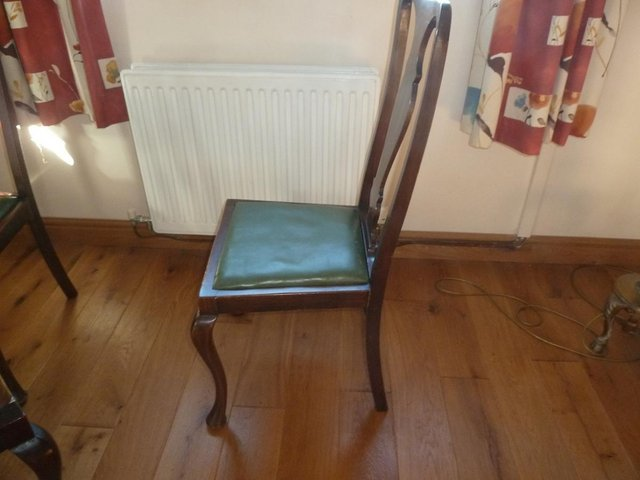 Image 2 of Queen Anne style dining chairs