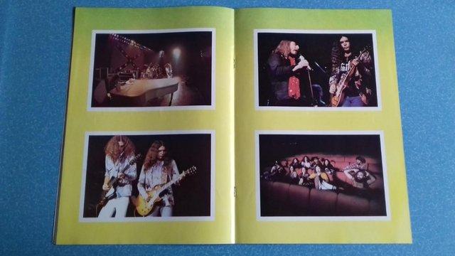 Image 3 of 1977 Lynyrd Skynyrd UK Tour Programme + concert stub.