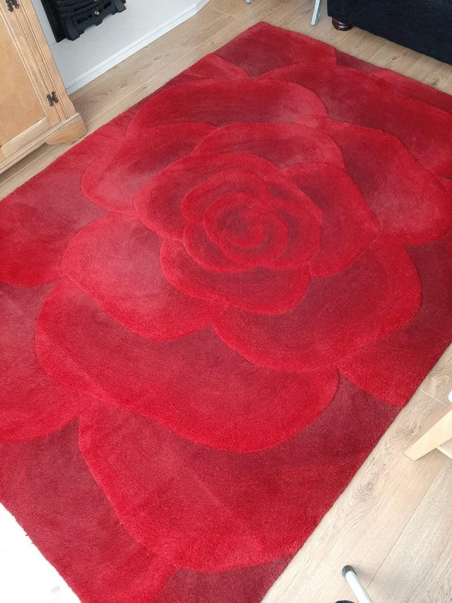 Image 3 of UTOPIA RED RUG