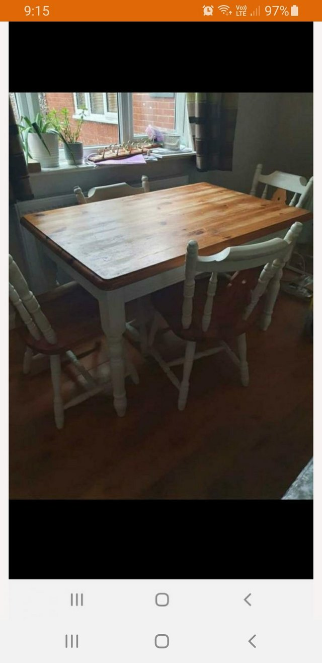 Kitchen Tables Chairs Second Hand Kitchen Furniture Buy And Sell Preloved