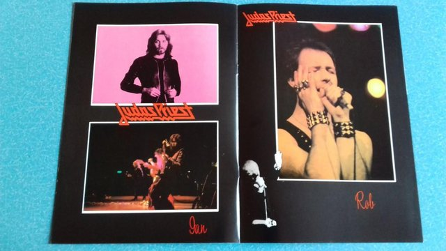 Image 3 of 1979 Judas Priest World Tour Programme + concert stub.