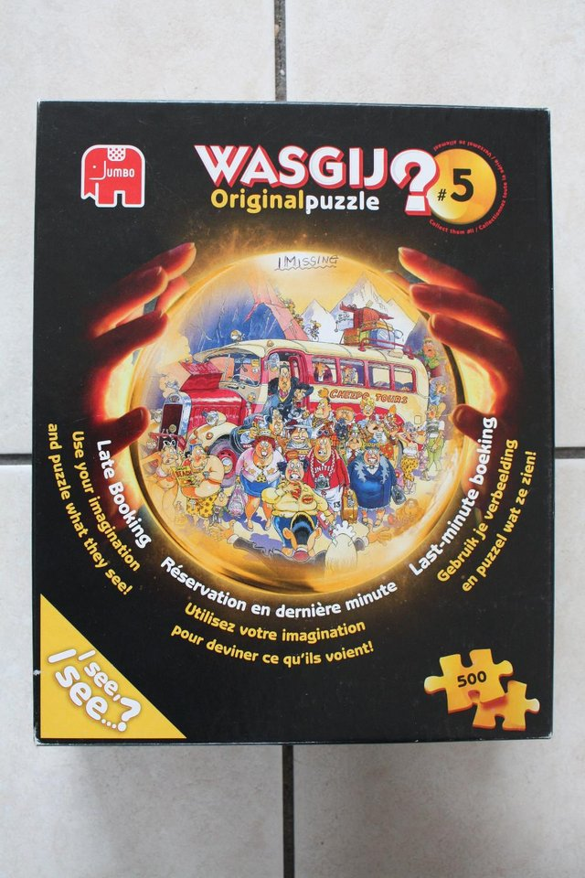 Preview of the first image of Wasjig Number  5 Late Bookings. ( 1 piece missing).