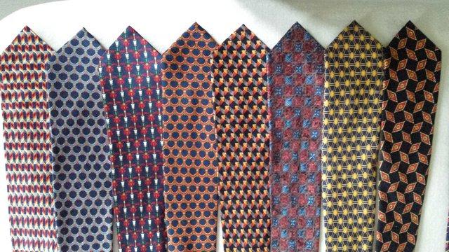 Image 2 of Men's new pure silk ties. 25 assorted