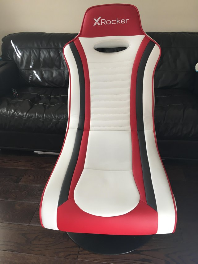 Image 3 of X Rocker Esport Pro Stereo Audio Gaming Chair with Subwoofer