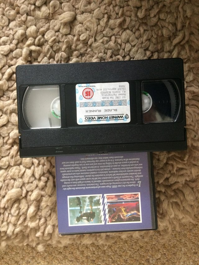 Preview of the first image of VHS Blade Runner.