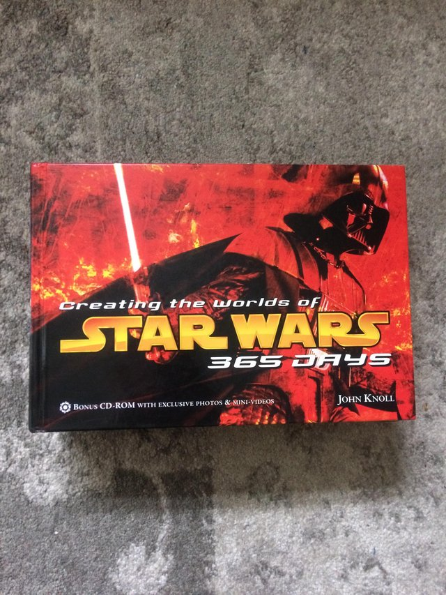 Preview of the first image of CD-ROM Star Wars 365 Days Hardback.