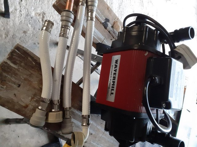 Image 2 of Watermill Shower Pump - used but good order