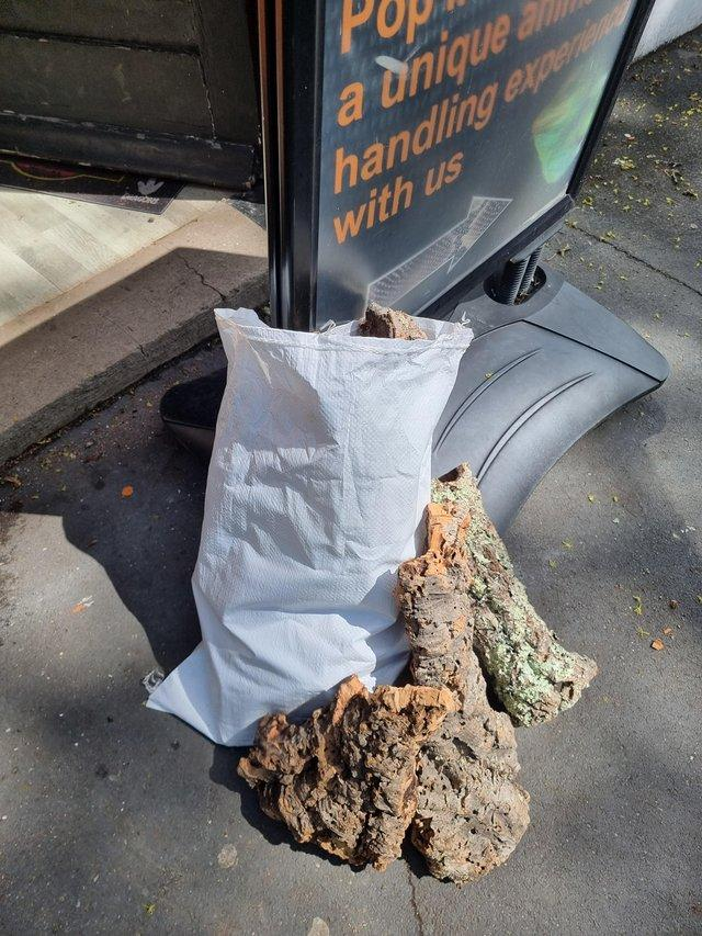 Preview of the first image of Large sacks of cork bark.