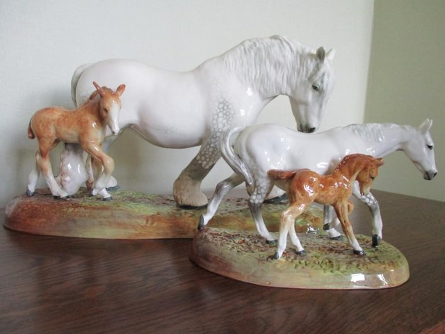 Image 5 of Stunning! Two Royal Doulton Figurines, Mare and Foal