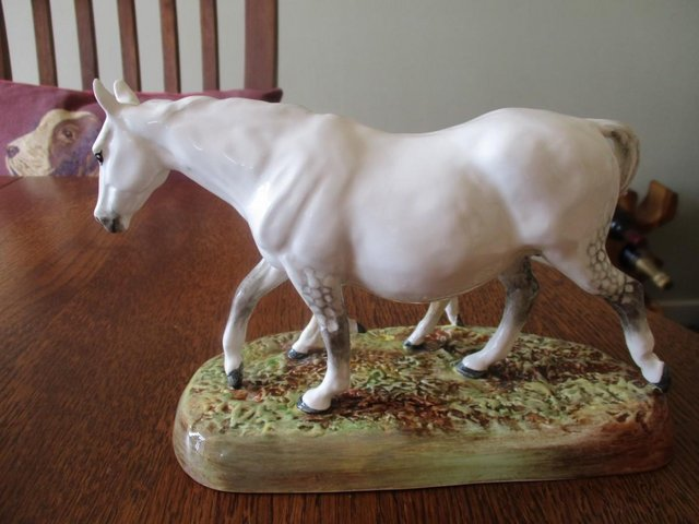 Image 7 of Stunning! Two Royal Doulton Figurines, Mare and Foal