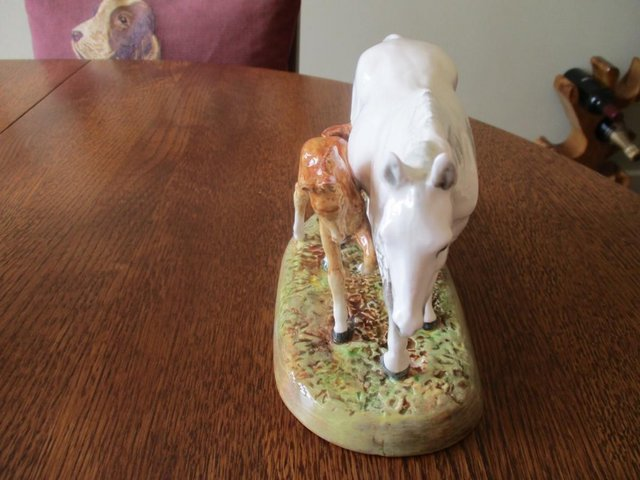 Image 11 of Stunning! Two Royal Doulton Figurines, Mare and Foal