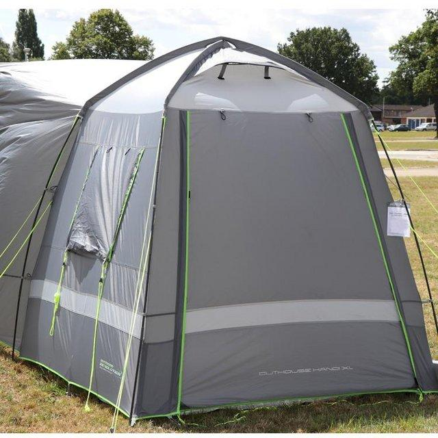 Preview of the first image of Outdoor Revolution Outhouse XL Handi driveway awning.
