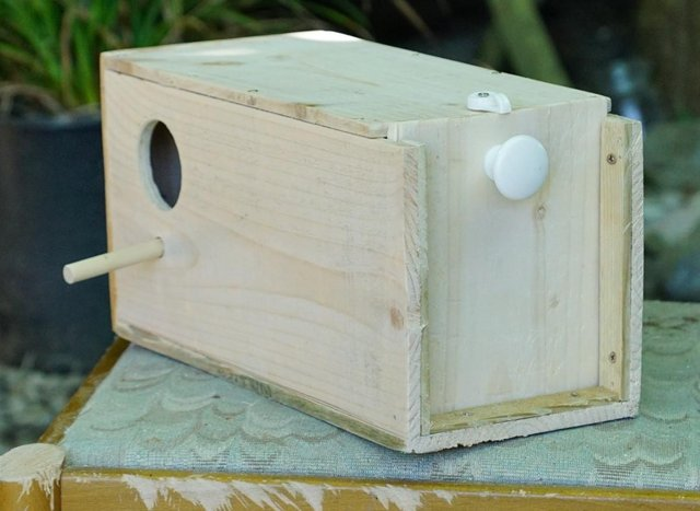 Preview of the first image of budgie nest boxes for sale.