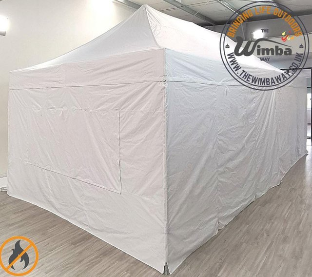 Image 2 of COMMERICAL GRADE 4m x 8m NEW Popup Gazebo Marquee – ALL SIDE