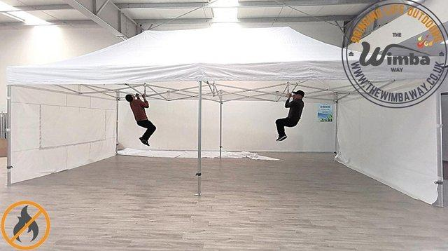 Image 5 of COMMERICAL GRADE 4m x 8m NEW Popup Gazebo Marquee – ALL SIDE