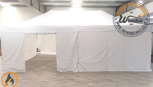 Image 6 of COMMERICAL GRADE 4m x 8m NEW Popup Gazebo Marquee – ALL SIDE