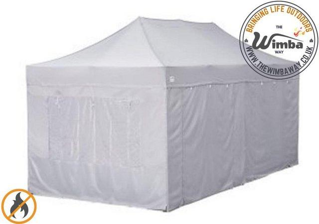 Image 8 of COMMERICAL GRADE 4m x 8m NEW Popup Gazebo Marquee – ALL SIDE