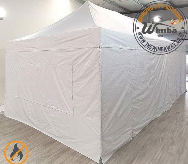 Image 11 of COMMERICAL GRADE 4m x 8m NEW Popup Gazebo Marquee – ALL SIDE