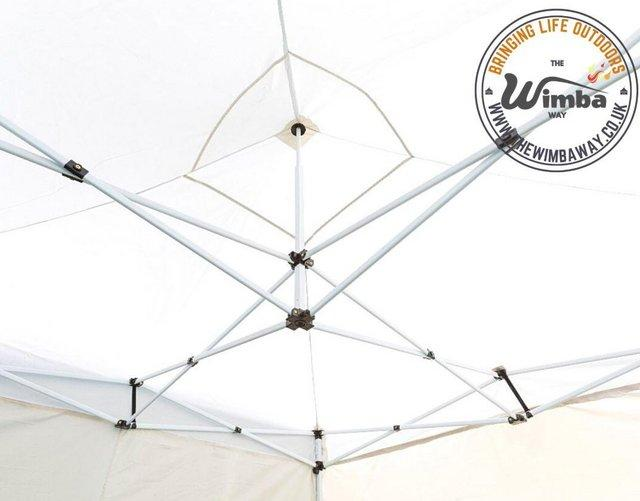 Image 10 of New HEAVY DUTY 3x3m Popup Gazebo Marquee Canopy – ALL sides