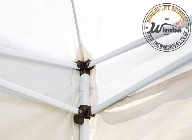 Image 13 of New HEAVY DUTY 3x3m Popup Gazebo Marquee Canopy – ALL sides