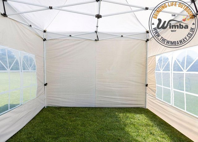 Image 14 of New HEAVY DUTY 3x3m Popup Gazebo Marquee Canopy – ALL sides