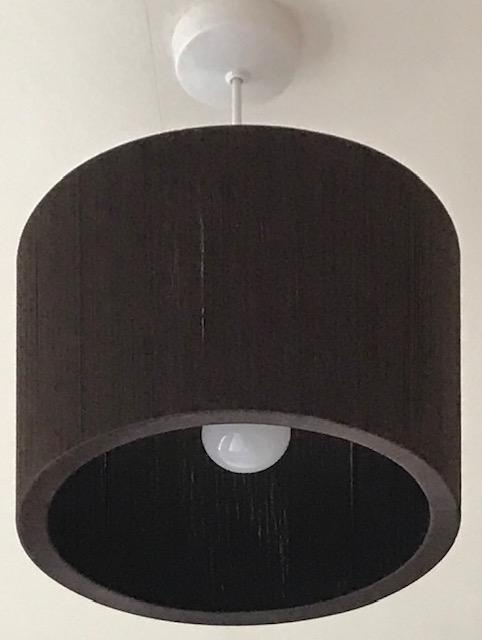 Image 2 of Brown Round ceiling light shade