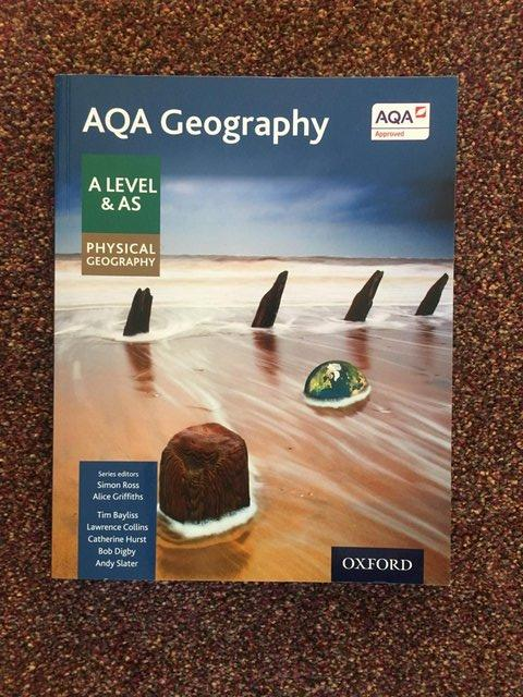 Preview of the first image of AQA A level & AS Geography (Physical).