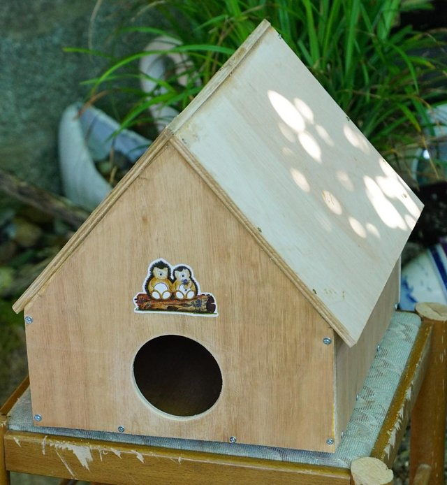Preview of the first image of hedgehog house.