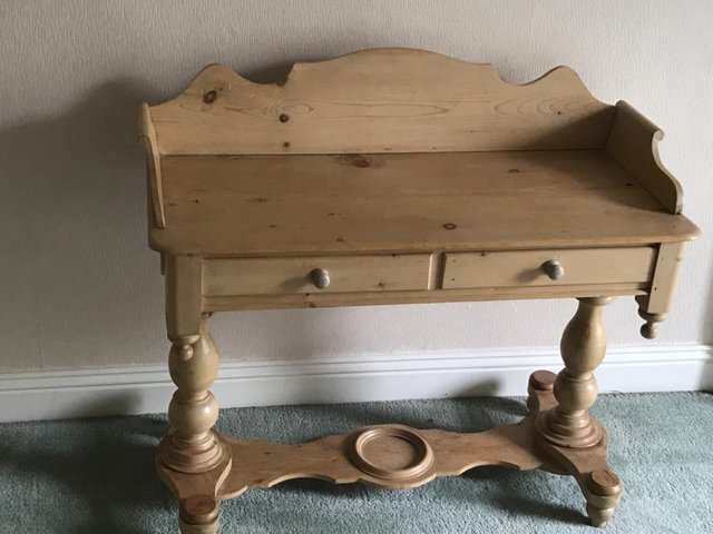 Image 2 of Antique pine washstand