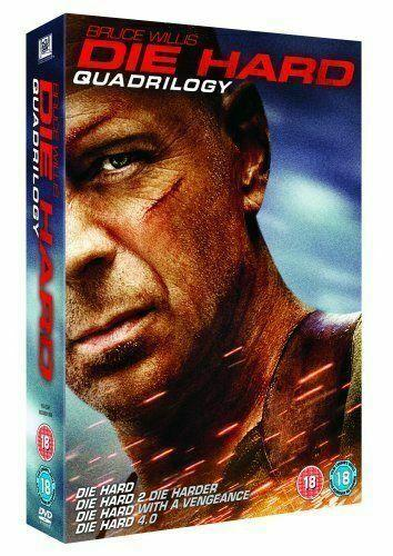 Preview of the first image of Die Hard Quadrilogy: Boxset.