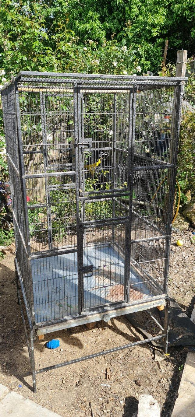 Preview of the first image of Extra large parrot cage/ avairy.