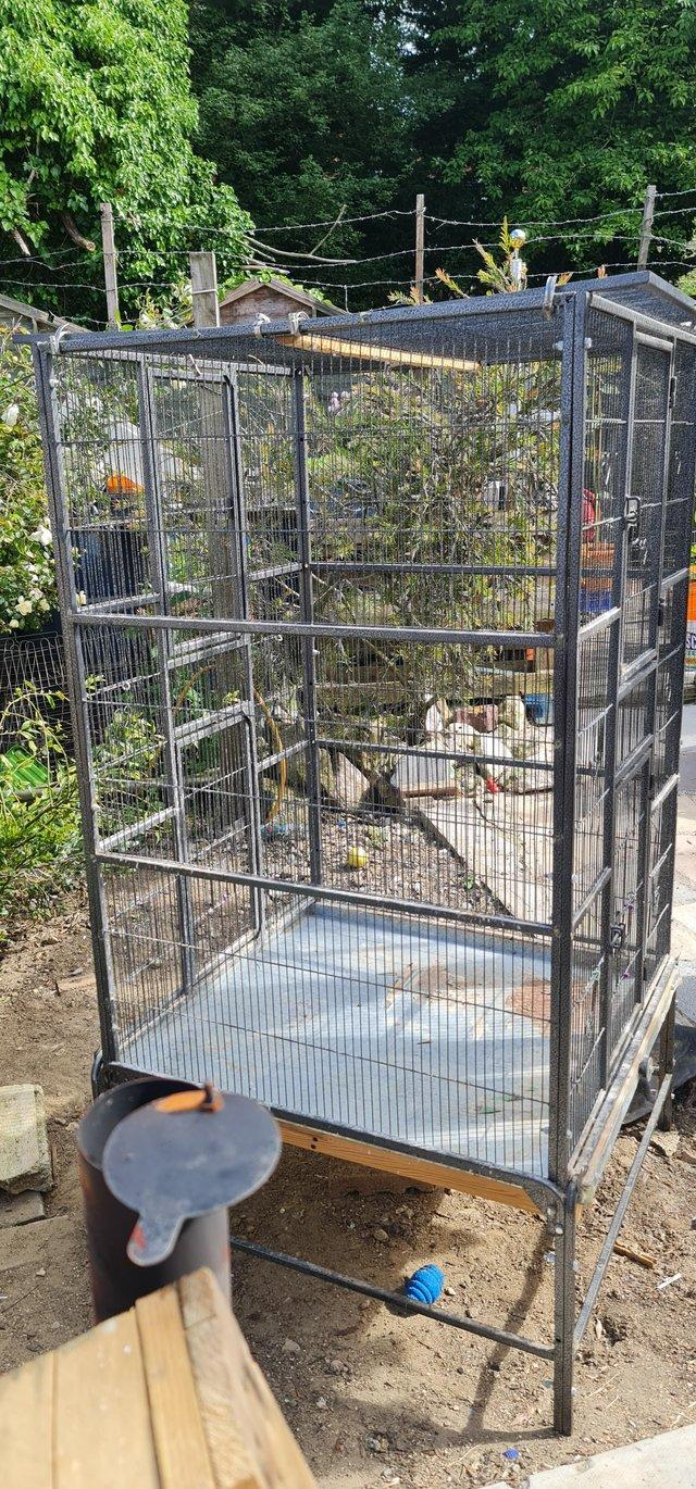 Image 2 of Extra large parrot cage/ avairy