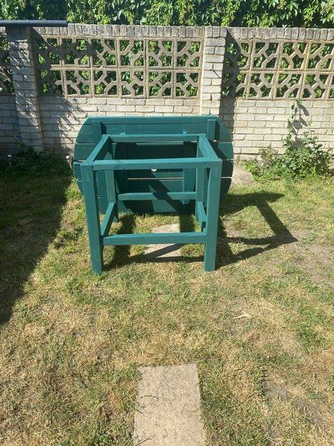 Preview of the first image of Handmade garden table.