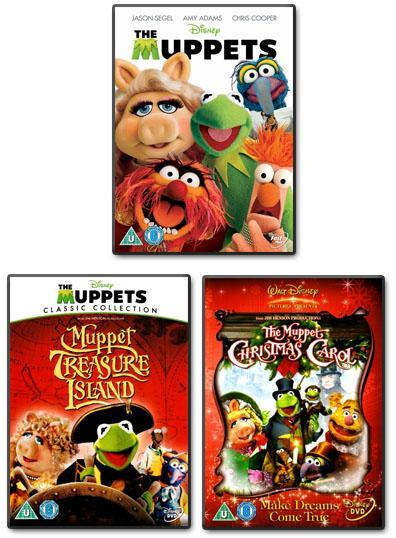 Preview of the first image of The Muppets: 3 DVDs.