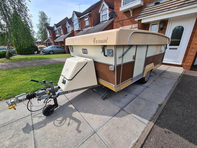 Preview of the first image of WANTED ANY FOLDING CARAVAN.