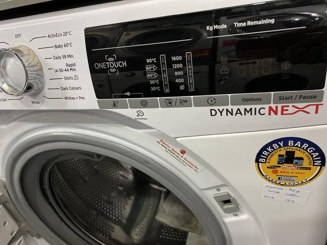 Image 3 of HOOVER WHITE 9KG WASHER 1600RPM -WIFI- BIG DRUM-EX DISPLAY-