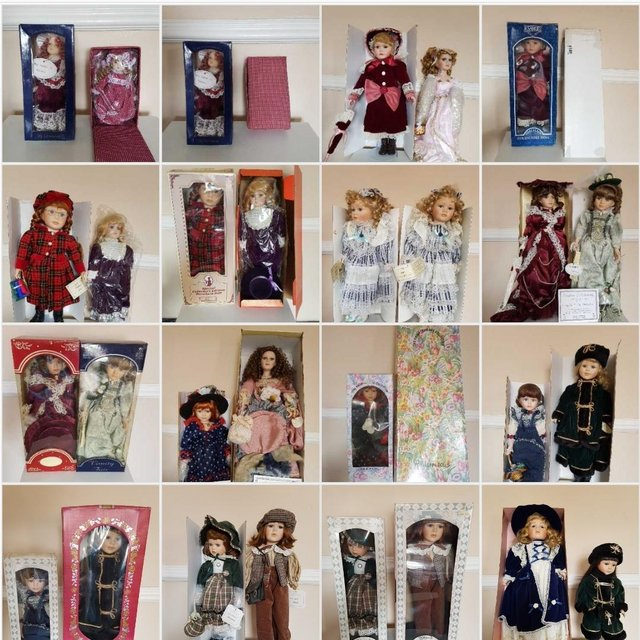 Preview of the first image of Various Porcelain Dolls.