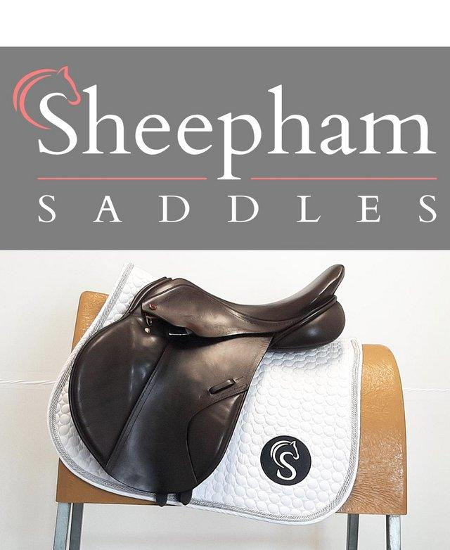 Preview of the first image of 3 DAY UK TRIAL Albion K2 Jump Saddle 17.5? W Brown.