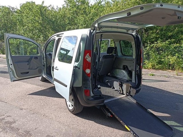 Image 2 of Wheelchair Access Automatic Petrol Mobility Renault Kangoo